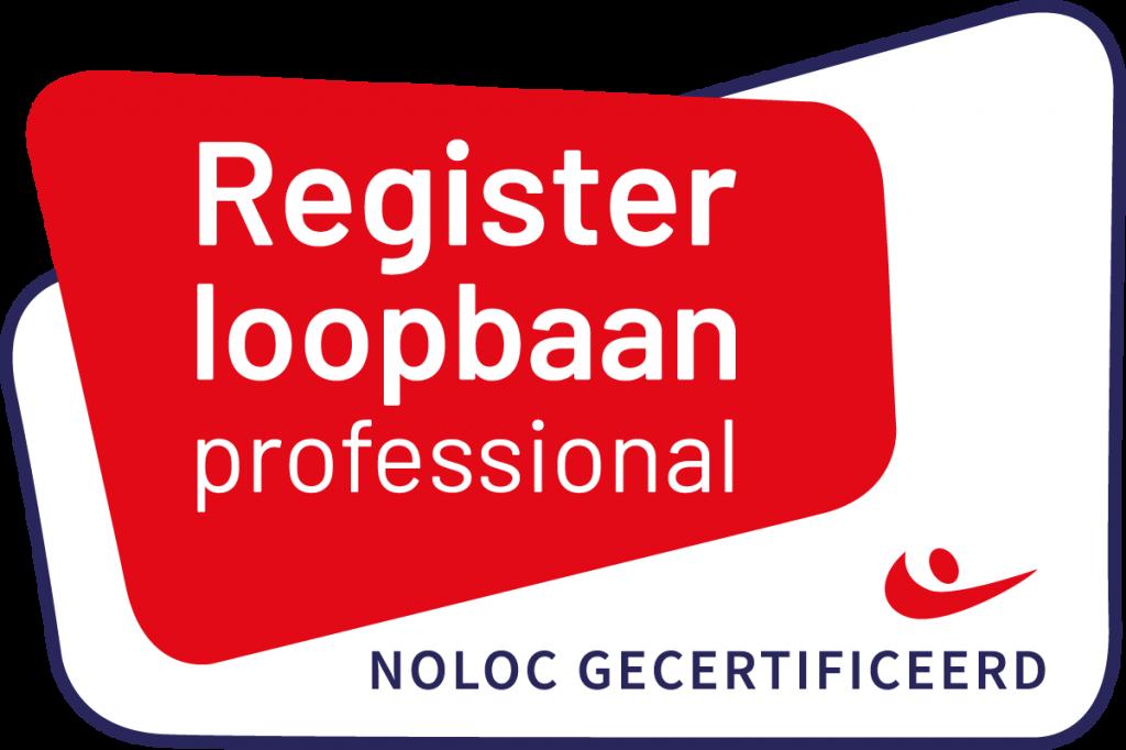 Ciska Heuvelman is Noloc gecertificeerd Register Loopbaan professional